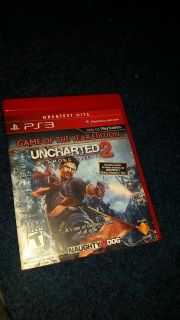 Uncharted 2 ps3 goty edition