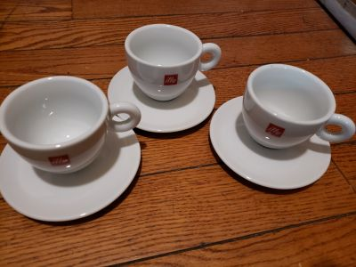 Set of 3 cappuccino