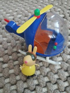 Peppa Pig Helicopter & Miss Rabbit