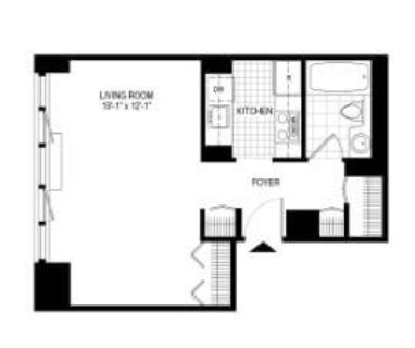 $7020 1 apartment in Midtown-West