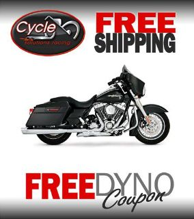 Purchase VANCE & HINES POWER DUALS 4 HARLEY TOURING 2009 16759 motorcycle in Hartford City, Indiana, US, for US $494.96