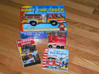 FIRE ENGINE - 4PC COLLECTION (SEE COMMENTS FOR CONTENTS)
