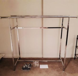 Double Tier Clothing Rack
