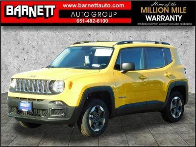 2017 Jeep Renegade SPORT 4X4 (Solar Yellow)