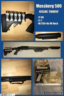 For Sale: Mossberg A500 Rolling Thunder