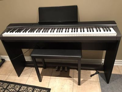 Casio Privia Digital Piano with stand and pedal