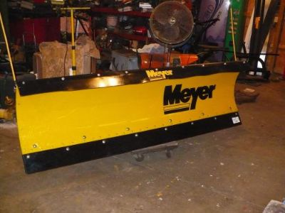 Buy CHEVY 1988-00 DODGE 94-12 SNOW PLOW MEYER POLY STP-7.6 NICE! motorcycle in Perry, Ohio, United States, for US $2,699.00