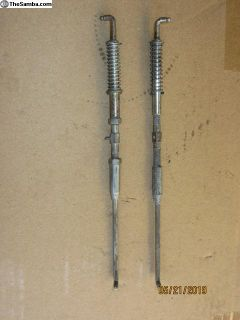 EGR adjusting bars
