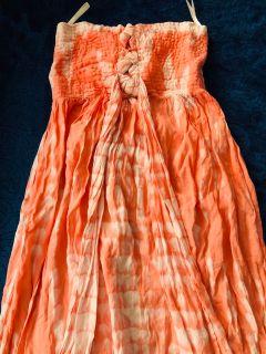 Orange Women s Maxi Dress