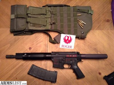 For Sale/Trade: Special Edition Ruger AR15 Pistol