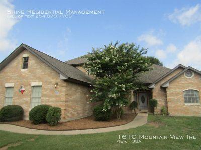 Single-family home Rental - 1610 Mountain View Trl