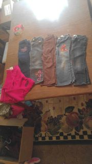 4t girls pants 5.00 each or 20 for all