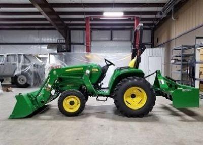 John Deere 3025E Utility Tractor