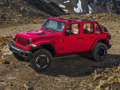 2018 Jeep Wrangler Unlimited Rubicon (Pe4/D5x9)