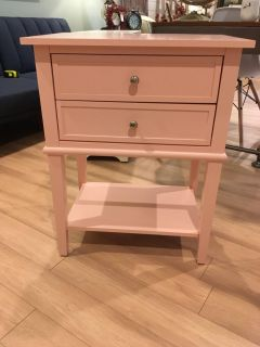 New! Night stand end table