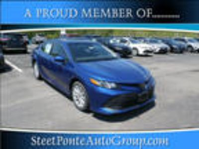 2018 Toyota Camry Blue, 54 miles