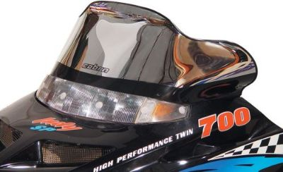 """Purchase POWERMADD/COBRA 11226 WINDSHIELD 10"""" CHR POL motorcycle in Plymouth, Michigan, United States, for US $120.60"""