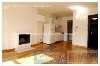 Murray Hill -Affordable Renovated Pre-War Studio With Fireplace, Air Conditioner, & Modern Kitchen