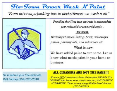 Flo-Town Power Wash N Paint (Central Texas)