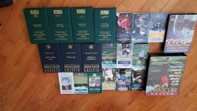GOLF INSTRUCTION VHS TAPES