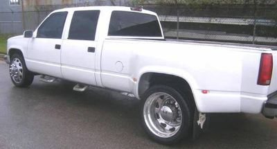 DUALLY CONVERSION OR REPLACEMENT REAR FENDERS CHEVY FORD DODGE