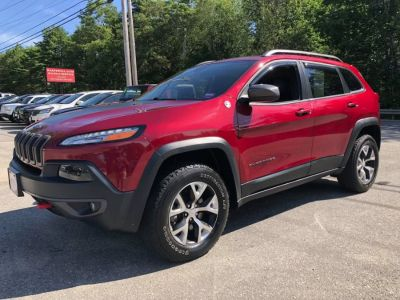 2016 Jeep Cherokee 4WD 4dr Trailhawk (Red)