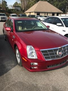 2009 Cadillac STS V6 (Red)