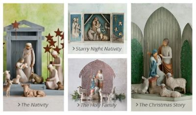 Buy Elegant Nativity Set from Willow Tree