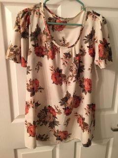 Size large maternity top-$5