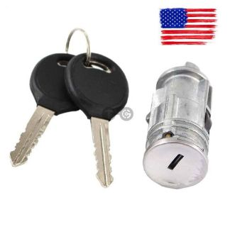 Purchase Ignition Switch Lock Cylinder + 2 No-Chip Keys for Chrysler Dodge Jeep Plymouth motorcycle in Montebello, California, United States, for US $15.75