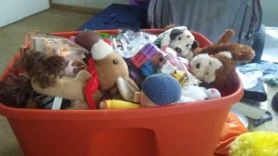 Tote Full Of Toys