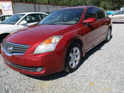 2008 Nissan Altima 2.5 S (Red)