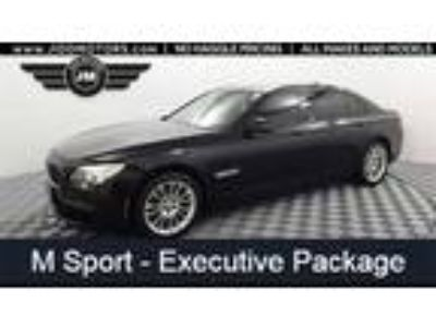 Used 2013 BMW 7 Series Black, 94.2K miles