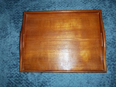 really nice wood serving tray