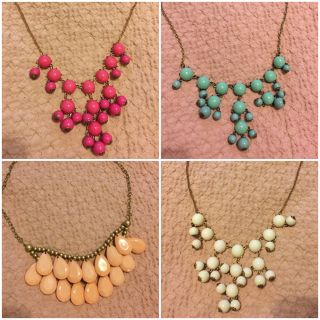 Assorted Bauble Necklaces