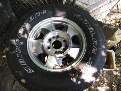 Tires and rims 265/70/16