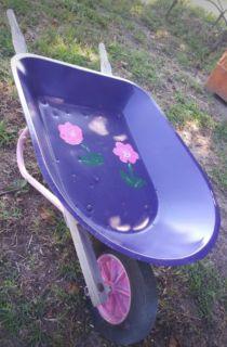 John Deere mini wheelbarrow-planter