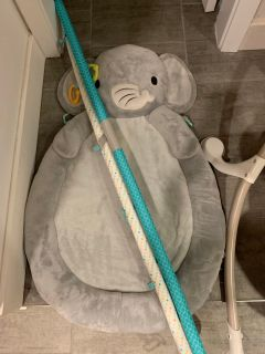 Baby elephant play Matt