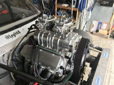 548 Blown Race Motor