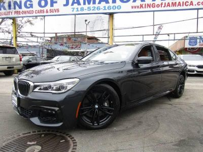 2016 BMW 7-Series 4dr Sdn 750i xDrive AWD (Gray)