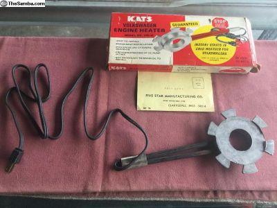 NOS Kat's Block Warmer, Type 1