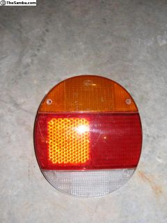 Left rear tail light lense