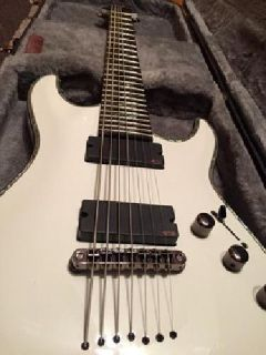 Lightly Used Schecter Hellraiser C7-7 7-String Guitar