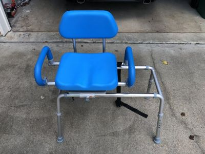 Pivoting Bath & Shower Chair for Elderly or Disabled