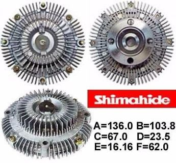 Purchase FITS 88-95 TOYOTA 4RUNNER PICK UP 3.0L V6 FAN CLUTCH SHIMAHIDE NEW motorcycle in Paramount, California, United States, for US $93.75