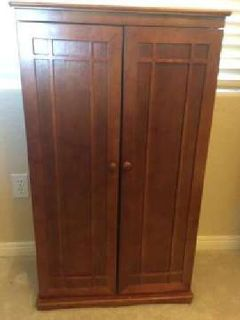 Solid wood DVD cabinets (2 available)