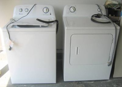 Amana Washer and Electric Dryer