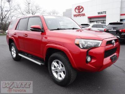 2018 Toyota 4Runner SR5 (Barcelona Red Metallic)