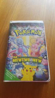 Pokemon The First Movie VHS copyright 1998