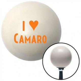 Buy Orange I <3 CAMARO Ivory Shift Knob with 16mm x 1.5 Insert spyder xtreme camper motorcycle in Portland, Oregon, United States, for US $29.97